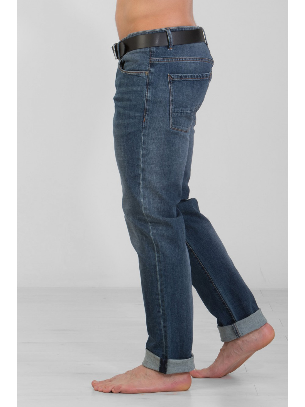 Jeans JSM277 stretch dr.blue