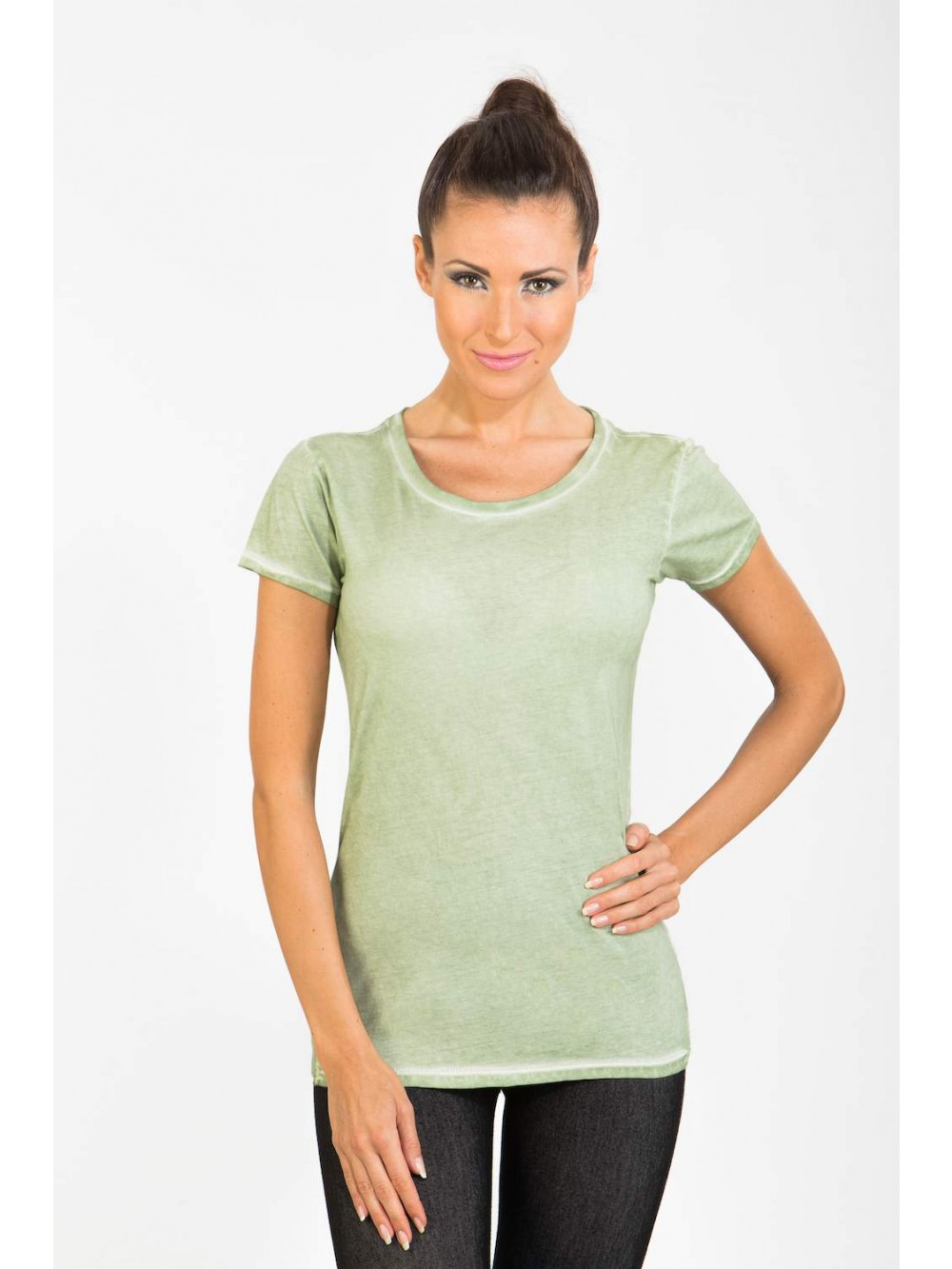 Womens Tshirt TONI - green