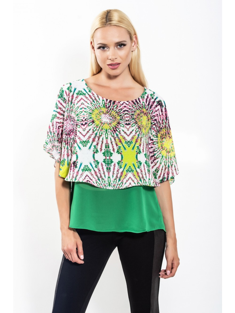 Womens TOP SCILLA - Green