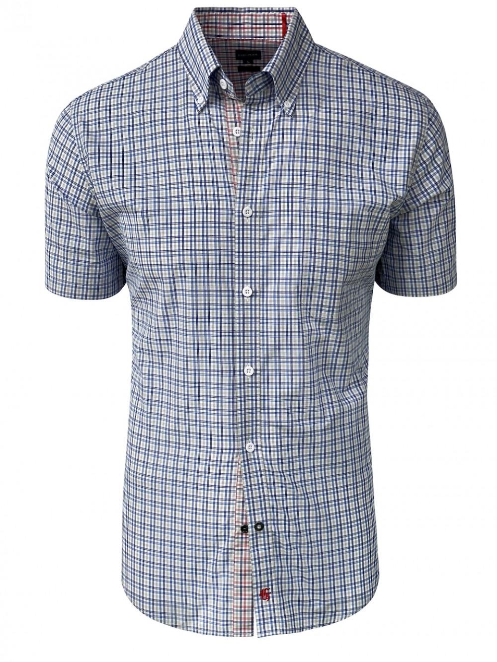 ALESSIO SHM1296 Cotton Slim fit Shirt  grey