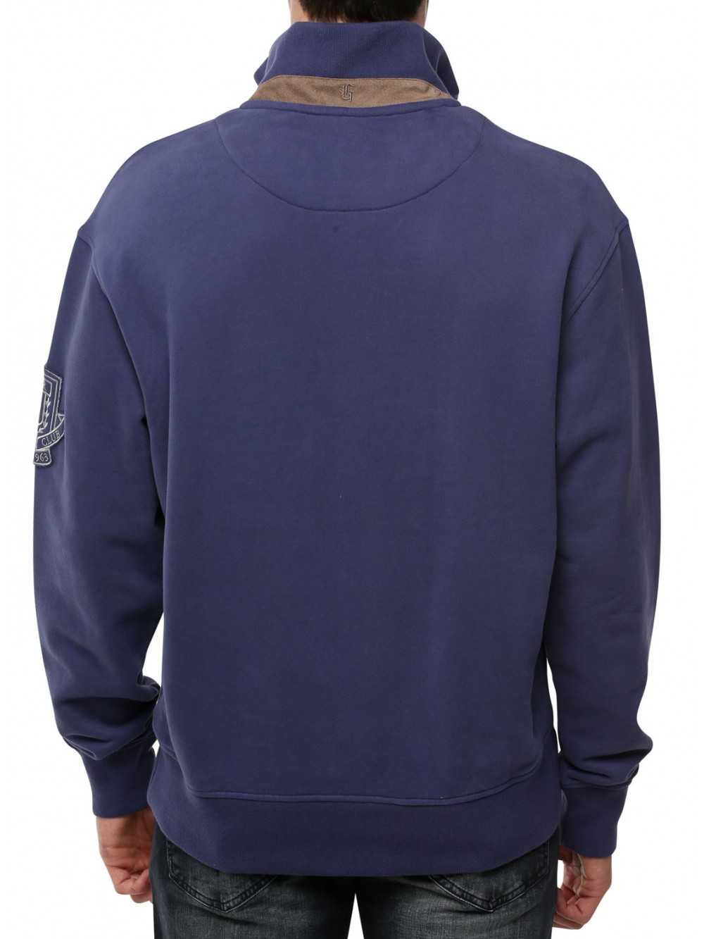 Mens Sweatshirt GALAXY blue