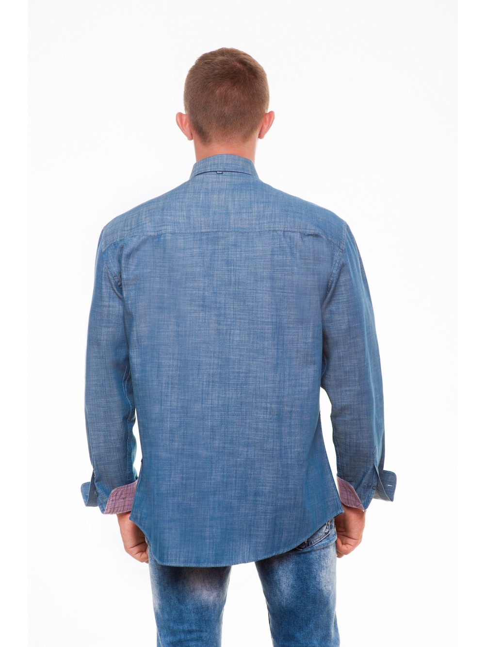Mens Shirt Regular fit  PAGE  - blue
