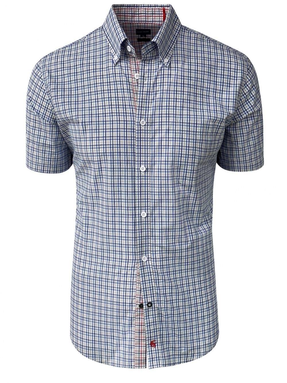 Mens Slim fit Shirt ALESSIO SHM1296 grey