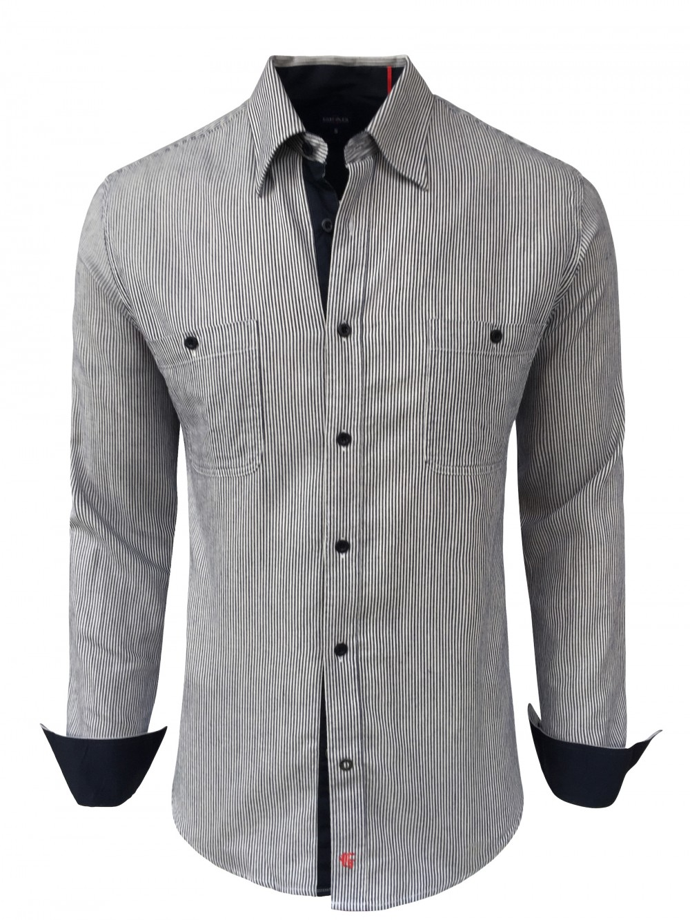 Mens slim fit shirt BARRICK SHM1286