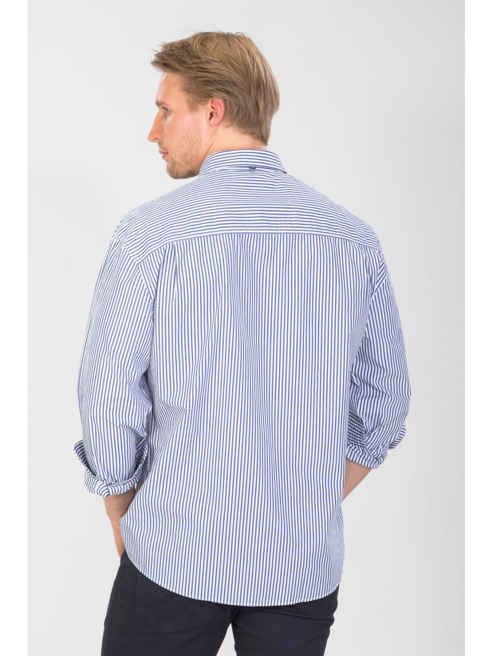 Pánská košile Regular fit FIDEL - white