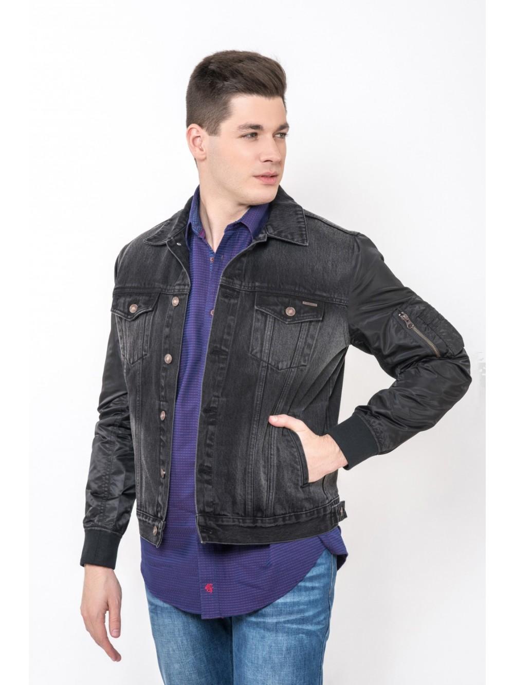 Džínová bunda EAGLE JAC274 černá